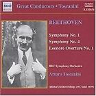 Ludwig van Beethoven - Beethoven: Symphonies Nos. 1 & 4, Leonore Overture No. 1 (2002)