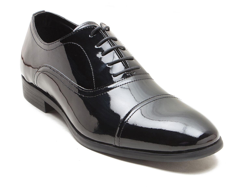 rot Tape Boston Schwarzes Lackleder Herren Formelle Formelle Formelle Schuhe  e8163f