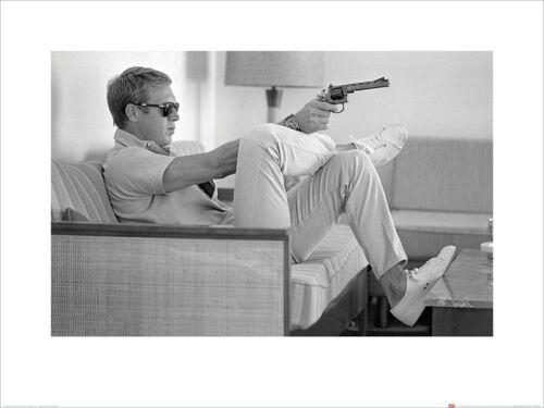 Takes Aim Kunstdruck 60 x 80 cm Time Life Steve McQueen