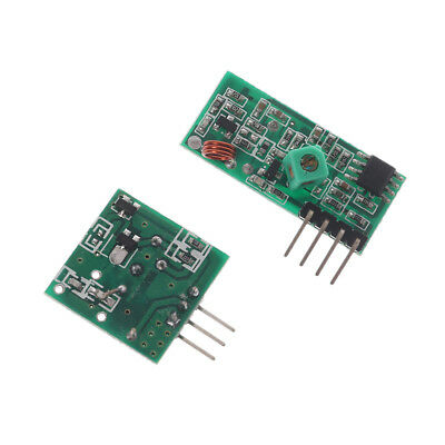 10Pcs 433Mhz RF transmitter and receiver link kit for Arduino//ARM//MCU NEW