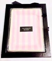 Victoria's Secret Signature Pink Stripe Vanity Fragrance Perfume Makeup Tray,nib