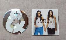 "CD AUDIO MUSIQUE  FR / ZAZIE ""ADAM & YVES"" 3T CD SINGLE 2002 MERCURY 582871-2"