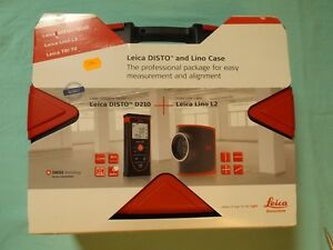 Leica Entfernungsmesser D210 : Leica disto d210 laserentfernungsmesser & lino l2 im koffer