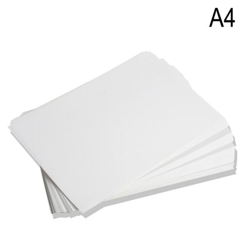 100 Sheets A4 Dye Sublimation Heat Transfer Paper for Mug Cup Plate T-Shirt FDA