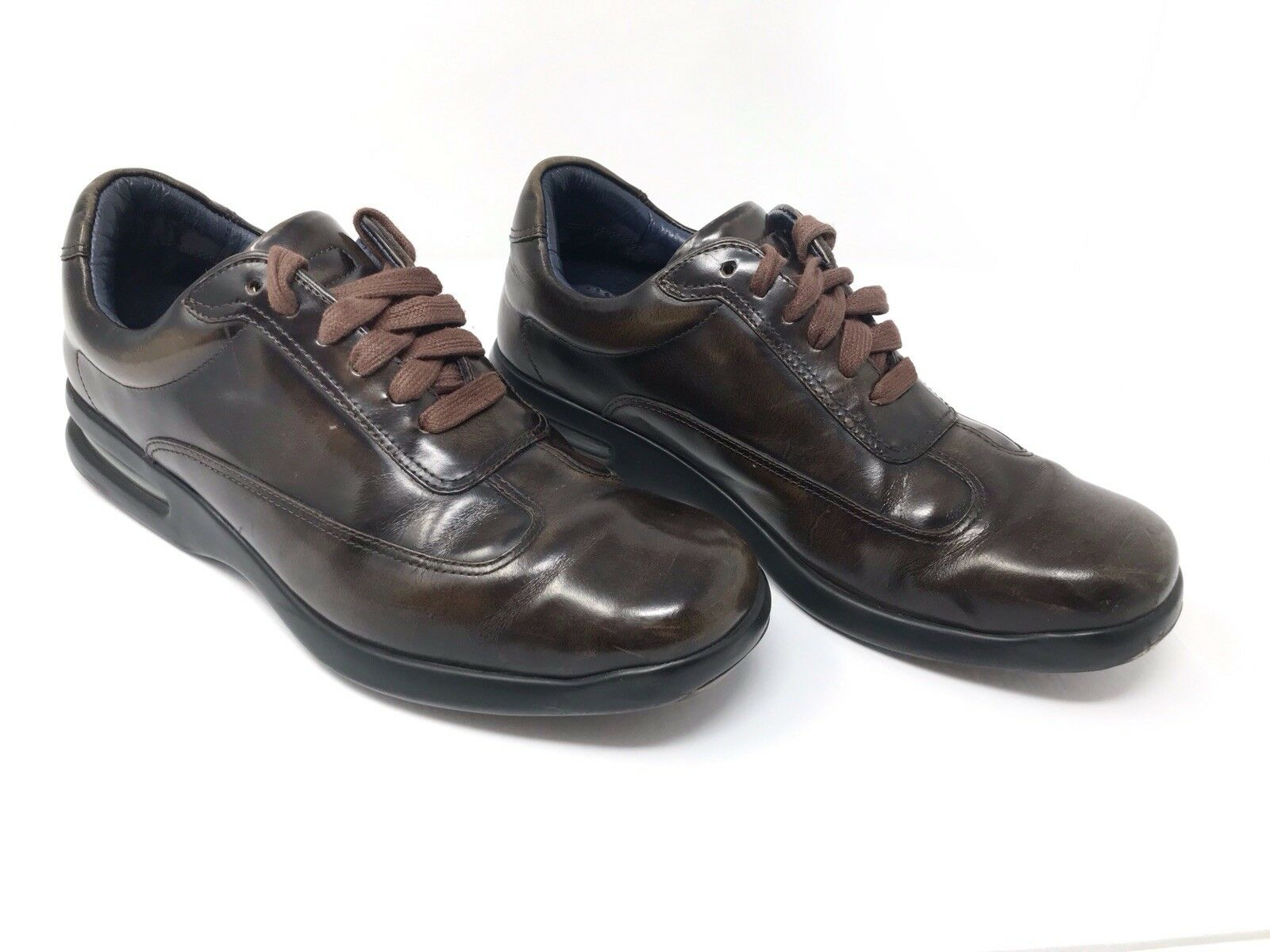 RARE Cole Haan Air Conner Casual Lace-Up Brown Leather Oxford Sneaker Men's 10M