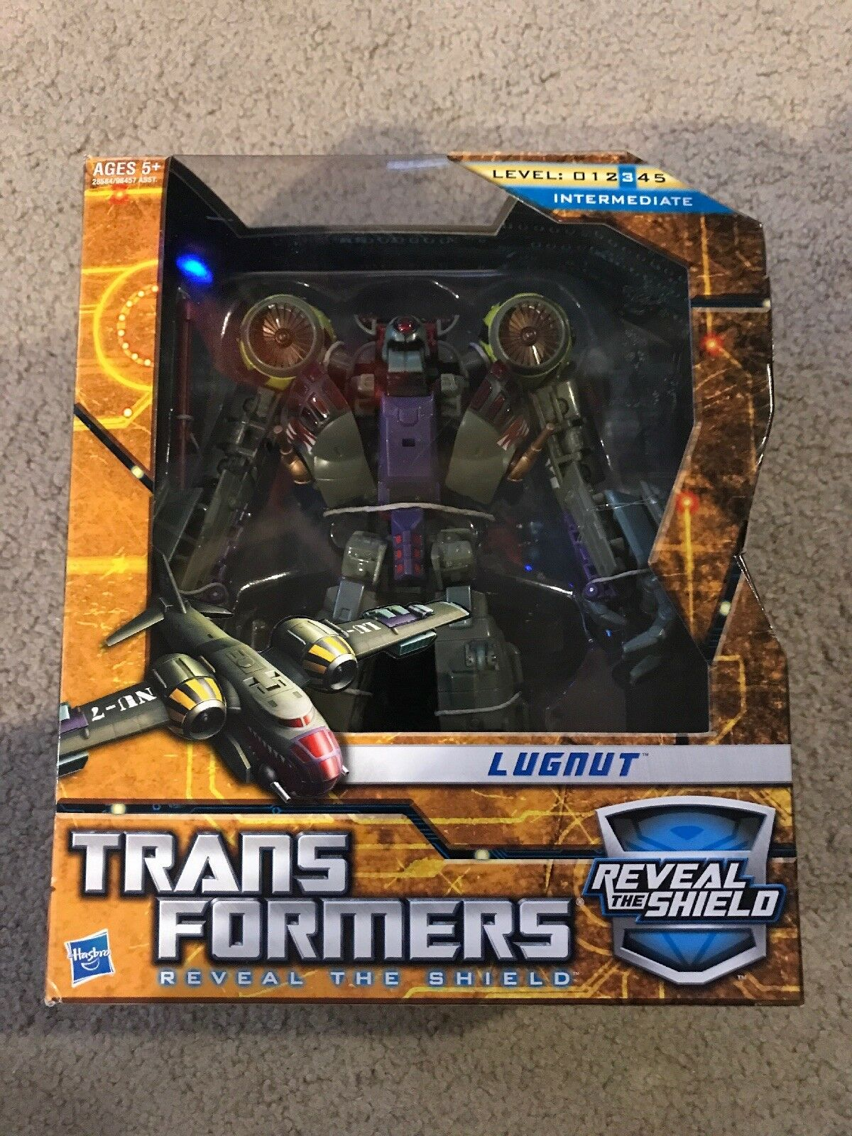Transformers Reveal  The Shield Voyager Class lugnut nouveau  100% de contre-garantie authentique