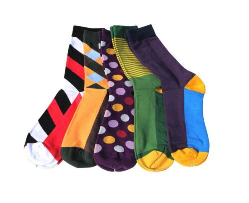 Summer SOCKS Mixed patterns combed cotton for men size 8-12,5 pairs//Lot