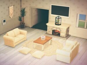Living Room Animal Crossing New Horizons - RUNYAM on New Horizons Living Room  id=25426