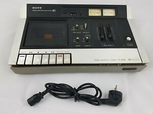 Sony-TC-135SD-Stereo-Cassette-Deck-Cassette-Recorder-as-is-read-condition
