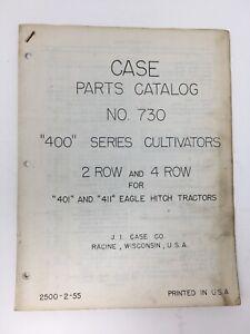 J-I-Case-Parts-Catalog-730-034-400-034-Series-Cultivators-for-Tractors-Original-1955