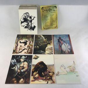 FRANK FRAZETTA SERIES 2 (Comic Images/1993) COMPLETE VINTAGE TRADING CARD SET