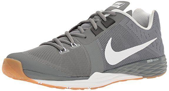 2683bb6095cb ... ebay nike train prime iron df mens 12 grey white black training lift  jump cut shoes