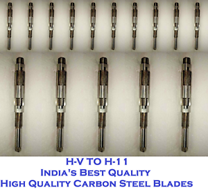"""1//4/"""" Inch To 1.1//16/"""" Inch 15 Pcs Set Adjustable Hand Reamer Size HV To H11"""