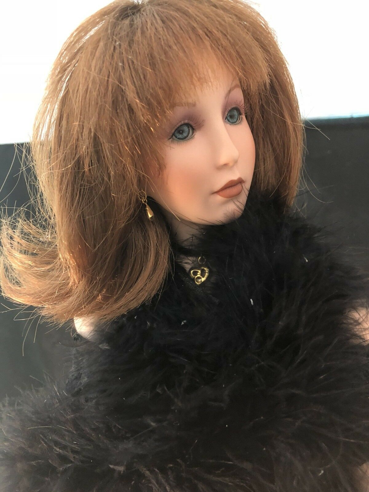 "27"" PORCELAIN DOLL BY DONNA RUBERT - Chari  102"