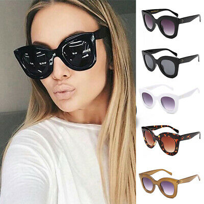 BIG HUGE LARGE OVERSIZE FRAME SUNGLASSES Womens Sunglasses BLACK Lady Shades
