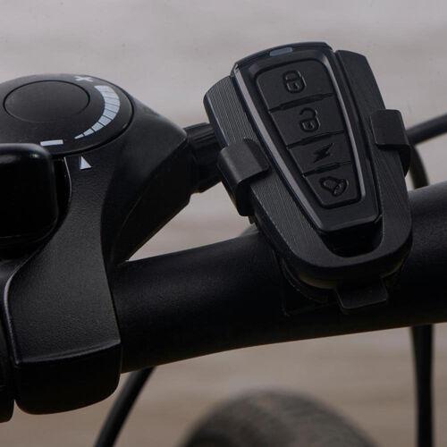 Alarme Antivol Vélo VTT Bicyclette Sirène Sonore Vibration Sécurité/&Télécommande