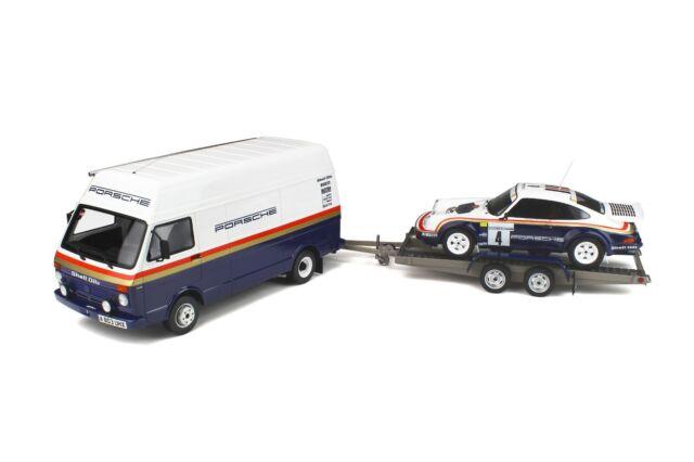 PACK RALLYE PORSCHE 1000 PISTES 1985 1/18 OttO OttOmobile OT331