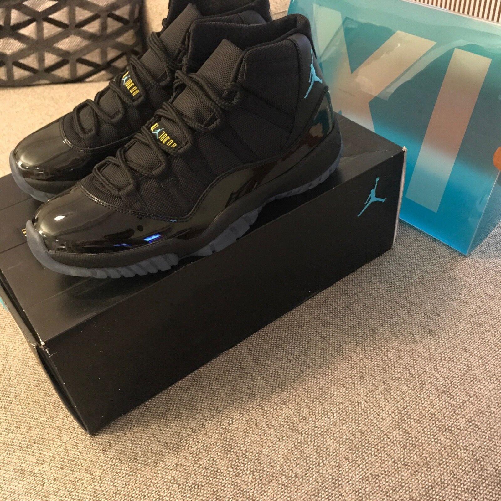 Nike Air Jordan 11 Gamma bluee Men's Size 10 DS Dead stock Style