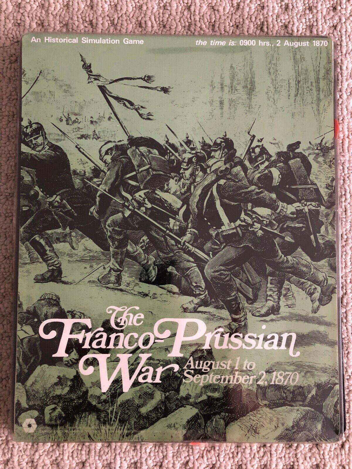 フランコプロシア戦争SPI 1972フラットトレイ版
