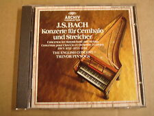 CD ARCHIV / J.S. BACH - CEMBALOKONZERTE BWV 1052-1054 / TREVOR PINNOCK