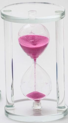 COLOURFUL MESMERISING SAND CLASSIC HOURGLASS CLOCK TOY 9839 SAND TIMER