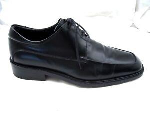 225-Gordon-Rush-Collection-black-Mens-square-toe-dress-oxfords-shoes-10-5