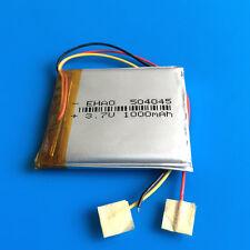 3.7V 1000mAh Li Po Battery for MP4 MP5 Speaker Recorder PSP Selfie Stick 504045