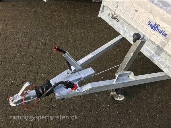 Trailer, Selandia Anssems PSX 405 2500 kg, lastevne (kg):