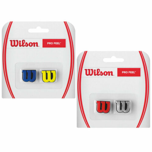Wilson Pro Feel vibrazione Smorzatore per tennis confezione da 2