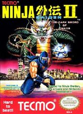 Ninja Gaiden 2 Dark Sword Of Chaos NES Great Condition Fast Shipping