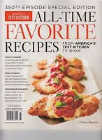 Cook's Illustrated All Time Favorite Recipes From America's Test Kitchen Tv Show