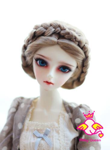 "Wig for 1//3 BJD dollfie 60cm doll Soom SD17 8-9/"" #8 Luts DZ DOD Soom"