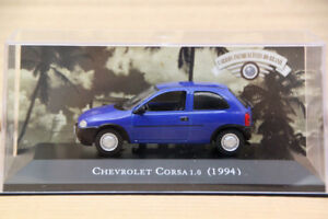 Altaya-1-43-Chevrolet-Corsa-1-0-1994-Diecast-Models-Metal-Car-Auto-Collection