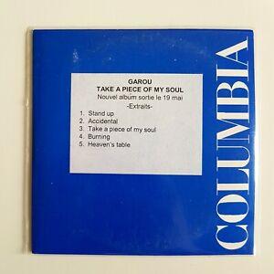 GAROU-TAKE-A-PIECE-OF-MY-SOUL-CD-Single-Promo-Columbia