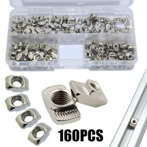 160X-M3-M4-M5-T-Slot-Nut-Hammer-Head-Fasten-for-2020-Aluminum-Extrusion-Profile