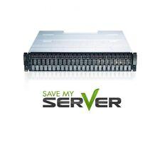 Dell PowerVault MD1220 24-Bay Storage Array H810 12x 600GB SAS