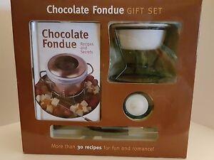 Image is loading Chocolate-Fondue-Gift-Set-Mud-Puddle-7-Piece-