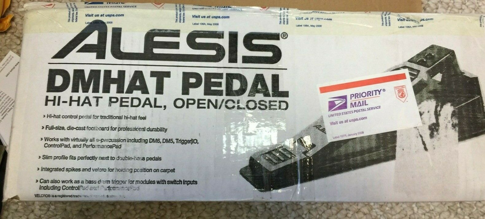 NEW Alesis DMHat Open//Closed Hi-hat Controller