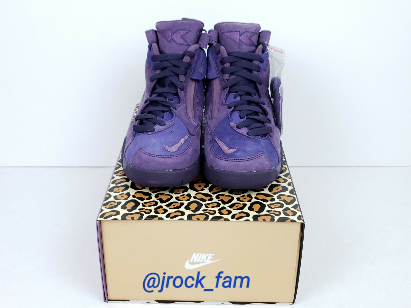 Nike Kith Air Maestro II 2 High Purple Ronnie Fieg Size 7