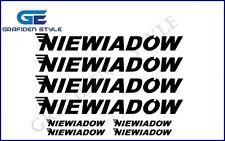 8 Stück  NIEWIADOW - Wohnwagen Aufkleber - Sticker - Decal !