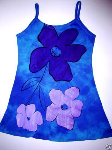 FLOWER T SHIRT  DRESS  hippie   festival  hippy