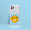 miniature 11 - Official KAKAO Friends BBOBBO Clear Jelly Phone Case +Free Tracking