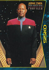 Star Trek Deep Space Nine Profiles  1997 Trading Card Set (82 Cards )