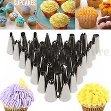35Pcs DIY Pastry Fondant Cake Icing Piping Nozzles Decorating Tips Baking Tool