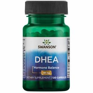 SWANSON-DHEA-50mg-120-240Kapseln-dehydroepiandrosterone-EXP-2021