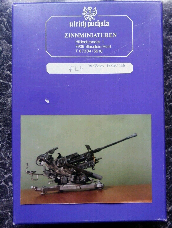 Ulrich Purchala Miniatures 1 35th scale. Product FL4. 3.7cm Flak 36