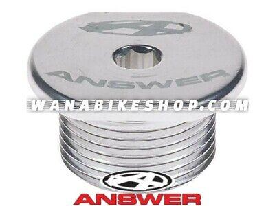 ANSWER BMX EXPERT DAGGER TOP COMPRESSION FORK CAP Silver