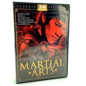 Martial-Arts-Classic-Feature-DVD-Set-50-Movies-12-Discs-Bruce-Lee-70-Hours