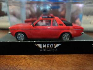 Neo 1/43 Opel Kadett Aero