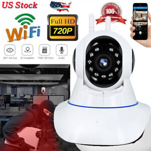 Full HD 1080P Wireless IP Outdoor Security Camera Wifi IR Night Vision ONVIF P2P